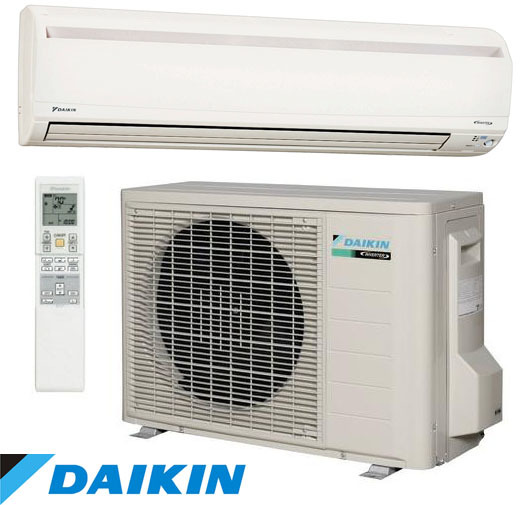 Daikin heatpump installation